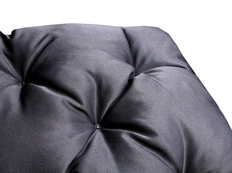 Meerweh Polsterauflage - 100x98 cm - grau