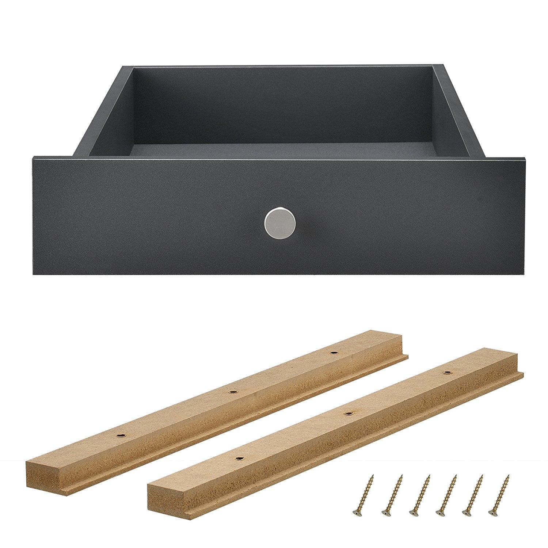 Stilvolle Europaletten - Schublade perfekt integrierbar [en.casa]®