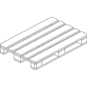 Möbelpalette Anthrazit 13 cm x 80 cm x 120 cm