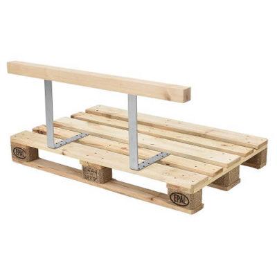 Rückenlehne für Euro-Paletten-Sofa Massiv Holzoptik DIY Möbel