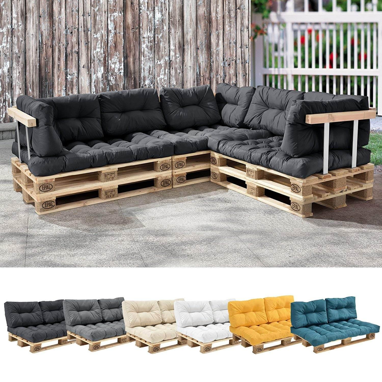 [en.casa]® – Sitzkissen für Europaletten-Sofa (verschiedene Farben)