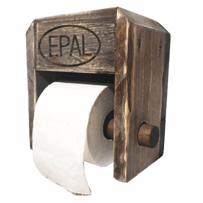 Europaletten-Toilettenpapier-Halter