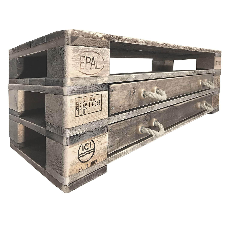 Derpalettenmöbelshop Pahala Paletten Sideboard Kommode