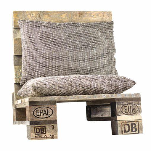 Lounge-Sitz aus Europaletten