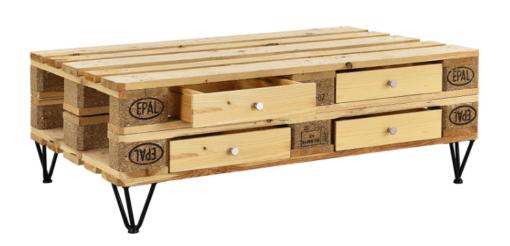 Schubladen-Set für Palettenmöbel